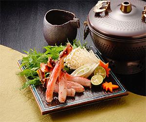 タラバ蟹のお鍋